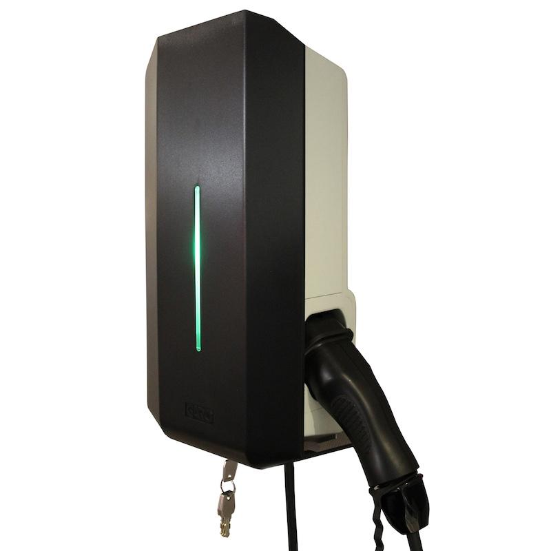 Garo GLB fast kabel 1,4-3,7 kW - Fullutrustad Laddboxar