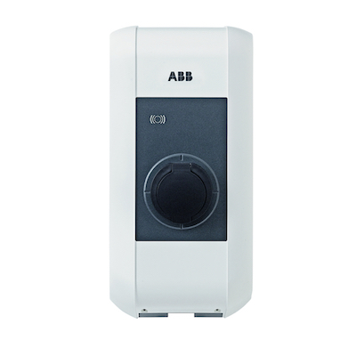 Laddbox till Hyundai IONIQ electric ABB Väggbox 22 kW uttag
