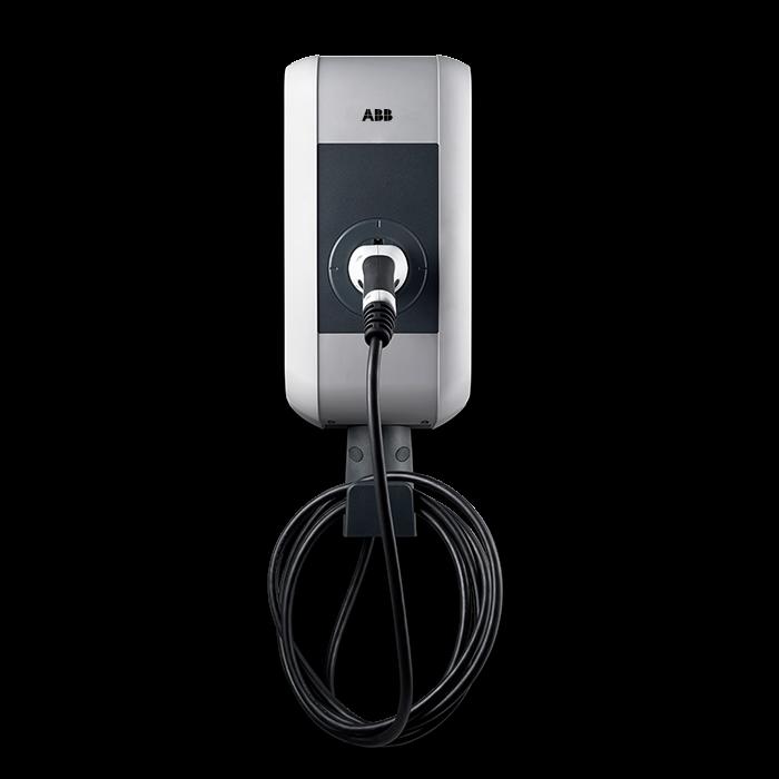 ABB Pro S fast kabel ställbar 3,7-22 kW Laddboxar