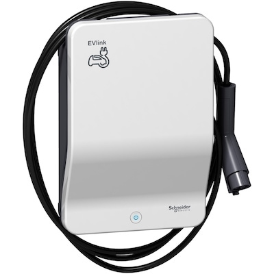 Laddbox till Nissan Leaf E-Plus Schneider EVlink 11 kW kabel