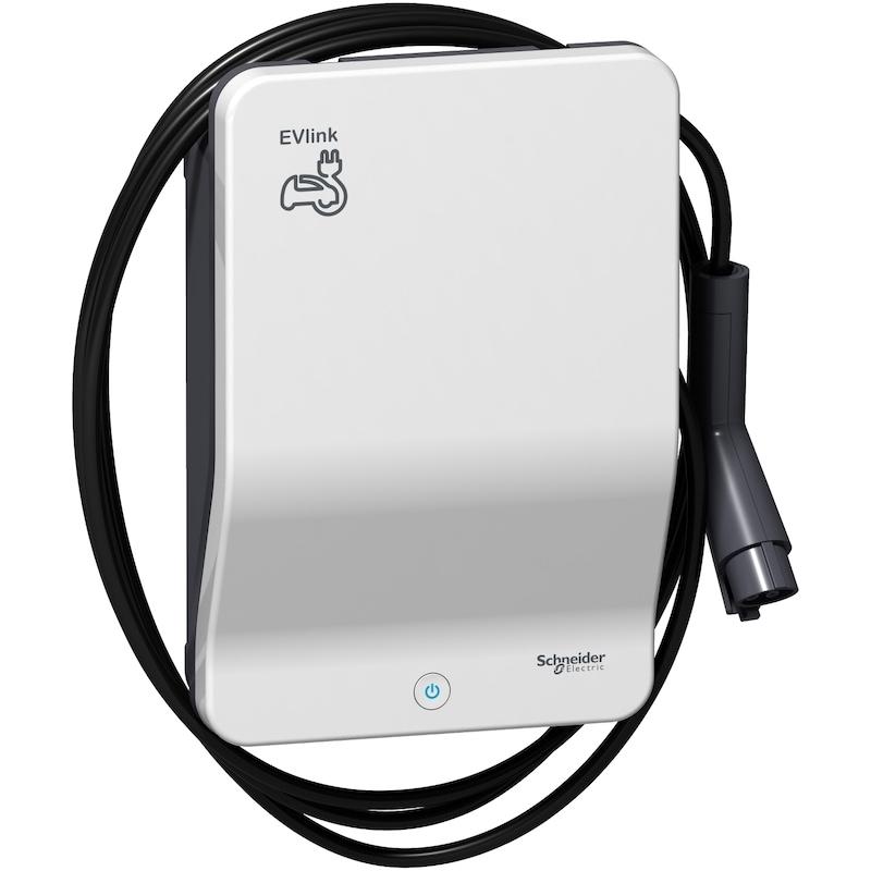 Schneider EVlink Smart 7,4/22 kW kabel Laddboxar